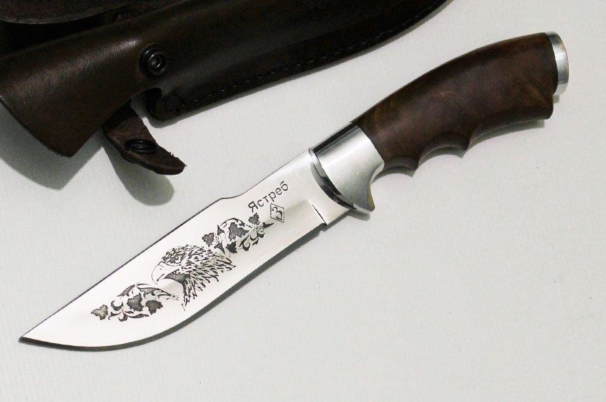 Нож Ястреб с гравировкой